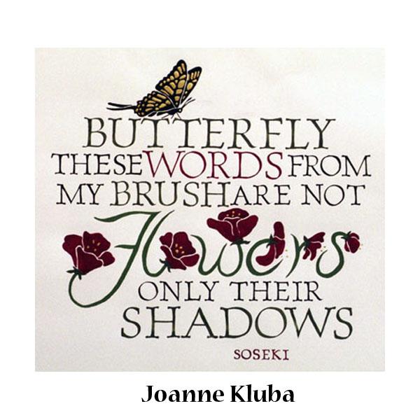 Joanne K 7c1calligbroad_butterfly