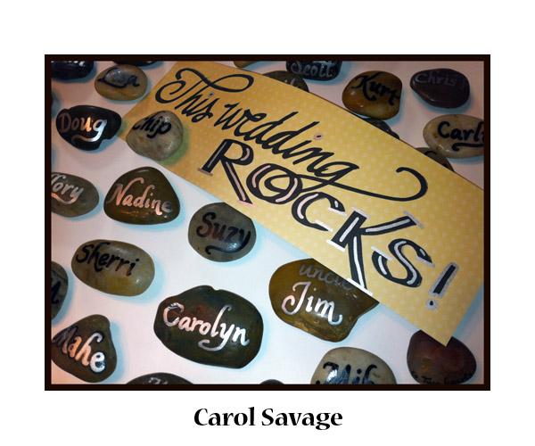 Carol S. rockinwedsign