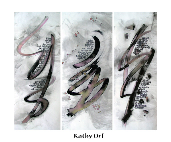 Kathy tryptich