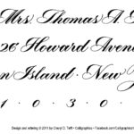 Cheryl Tefft Beginning Copperplate-Killian Tormey return address, LR, modified and with copyright