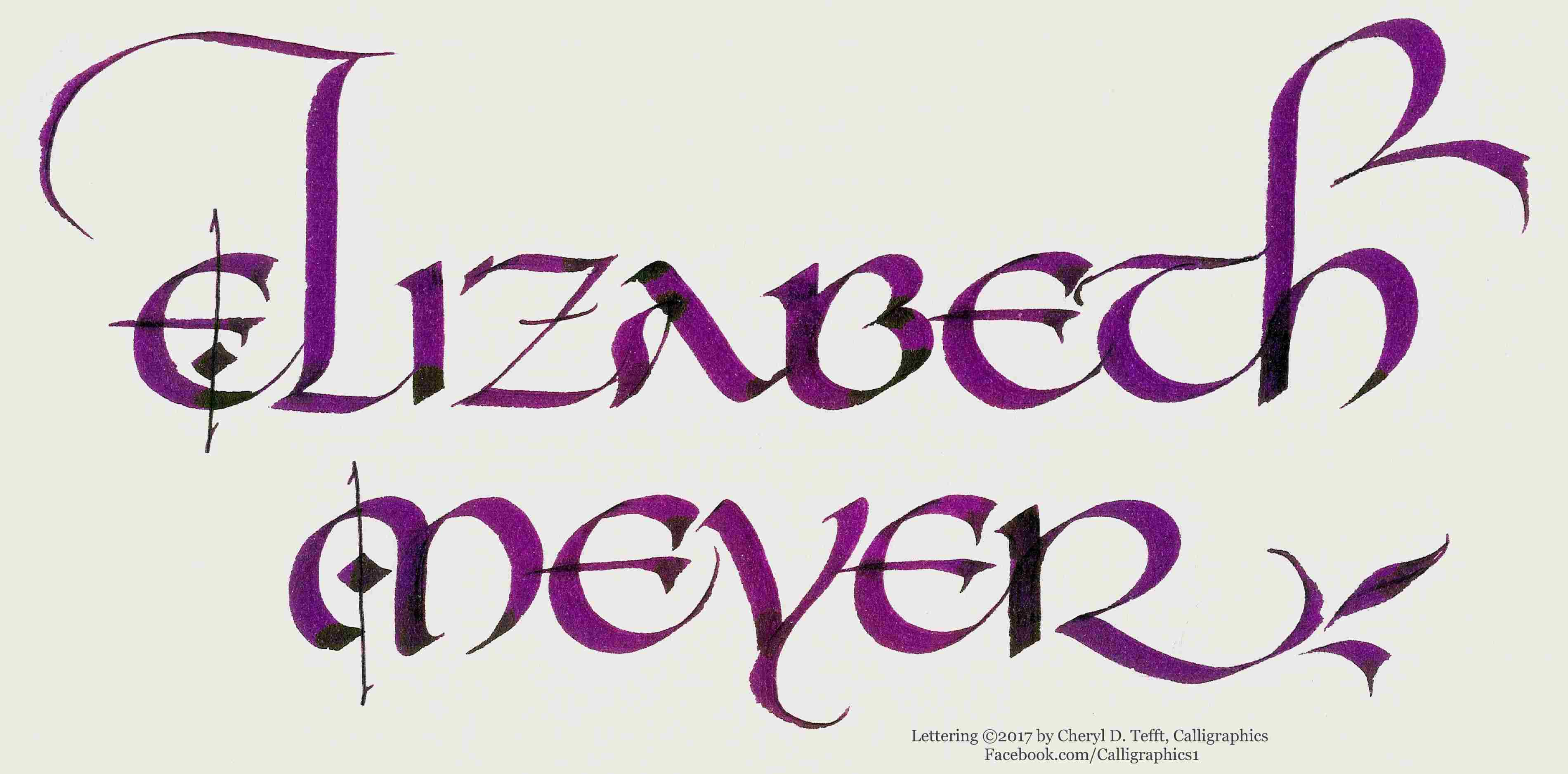 Cheryl Tefft Beginning Calligraphy