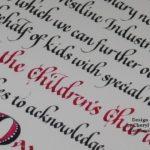 Cheryl Tefft Beginning Calligraphy II